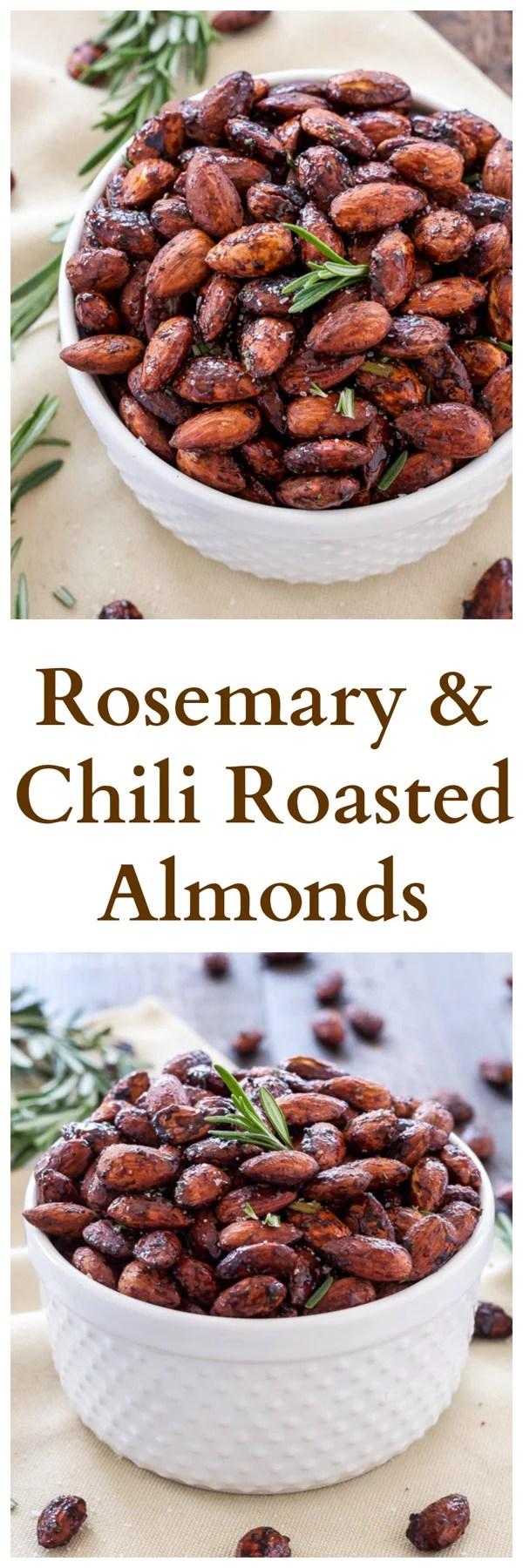 Rosemary and Chili Roasted Almonds Recipe Runner