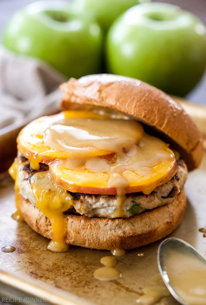 Apple Cider Turkey Burgers