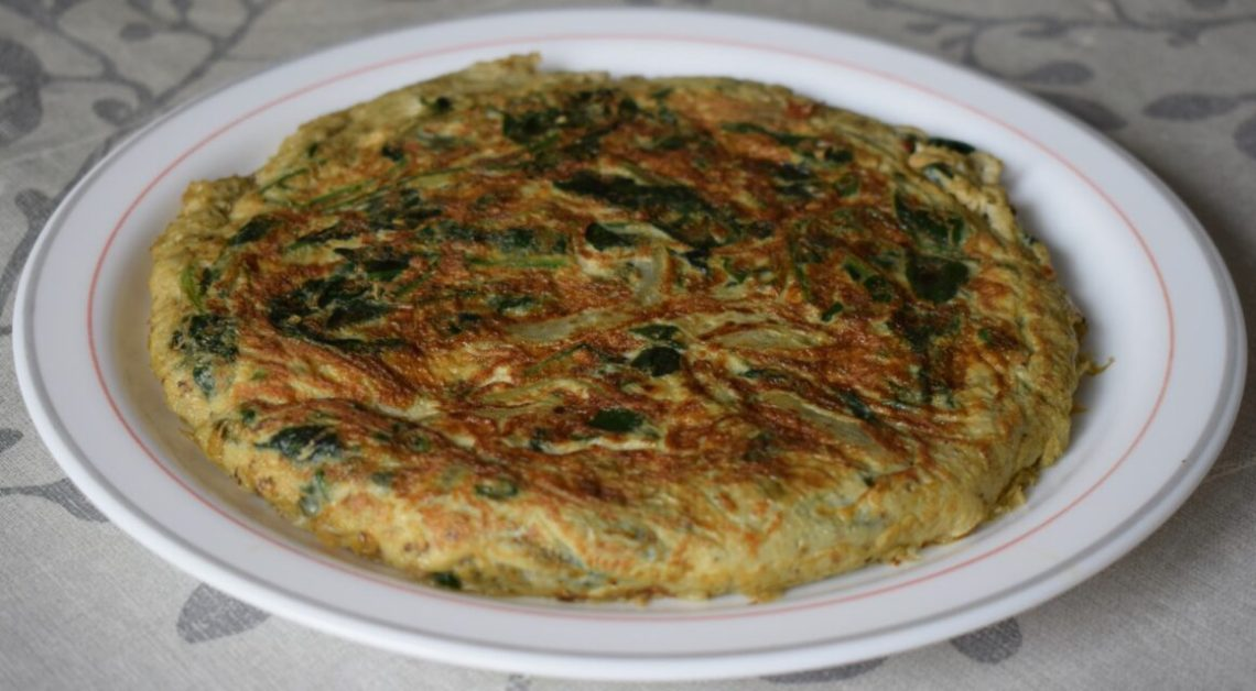spinach omelet