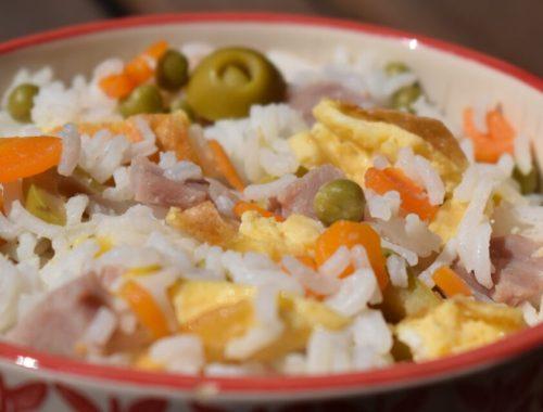 three delights rice