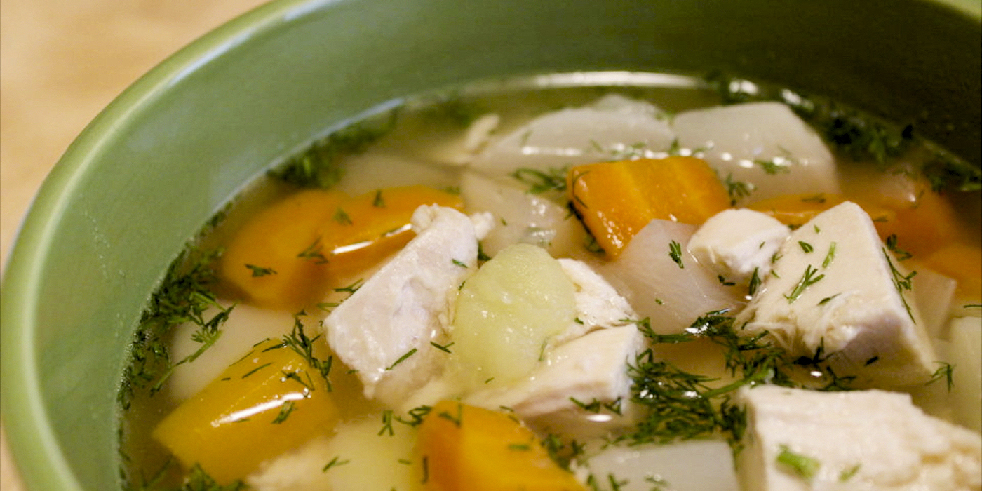 Chicken and Root Vegetable Soup  Oregonian Recipes