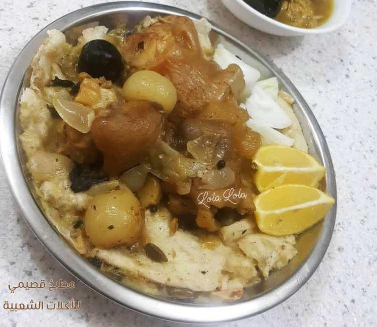 وصفة اكلة كوارع باجه العراقية سهله ولذيذه بالصور trotter recipe