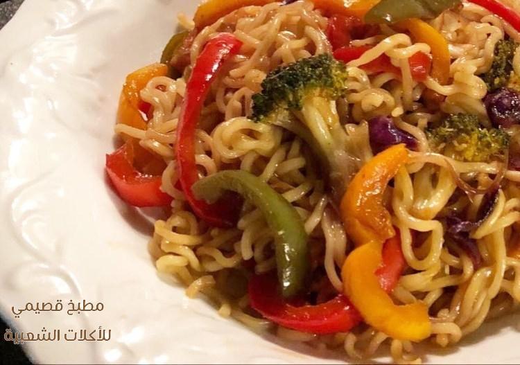 وصفة طريقة طبخ وعمل اكلة اندومي لذيذة