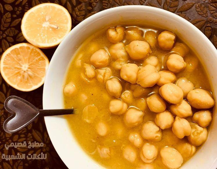 صور اكلة البليلة اللبلبي العراقية hummus balila recipe
