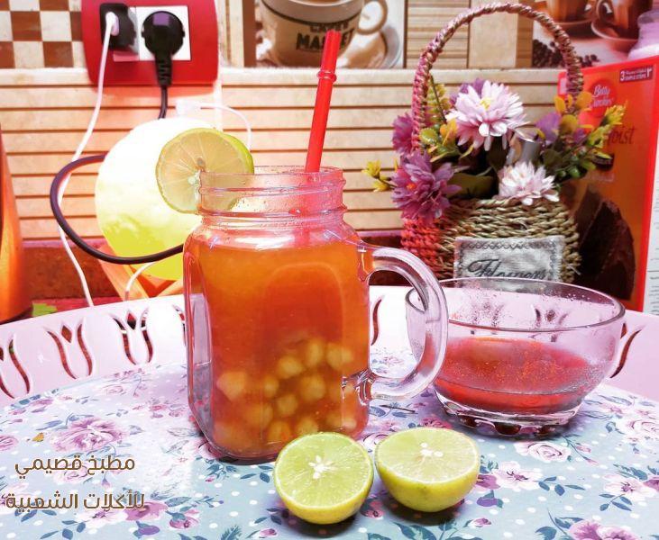صور اكلة البليلة حمص الشام زي محلات الشارع hummus balila recipe