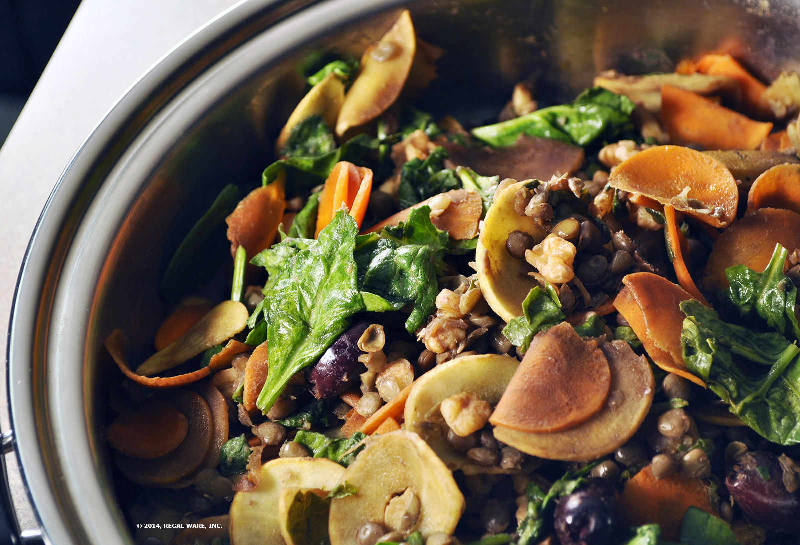 Lentil Spinach Saut  Saladmaster Recipes