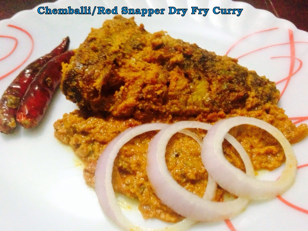 Chemballi Fish Curry Red Snapper Fish Curry