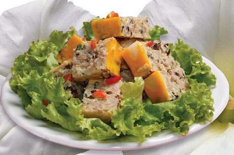 salad trung cua