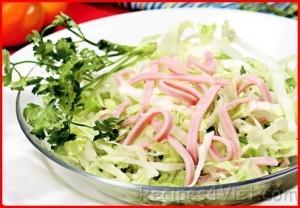 salad trung nhao