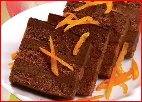 banh chocolate