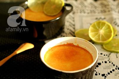 Mềm mịn thơm phức bánh flan chanh dừa 16