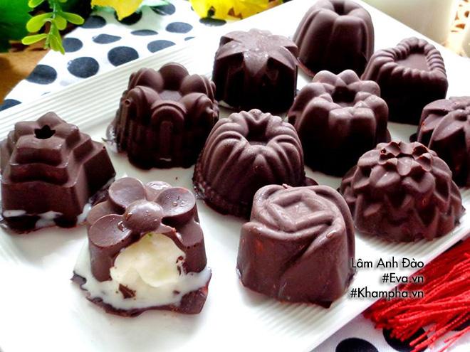 Tự làm kem sầu riêng chocolate tuyệt ngon thưởng cho con nghỉ hè - 12
