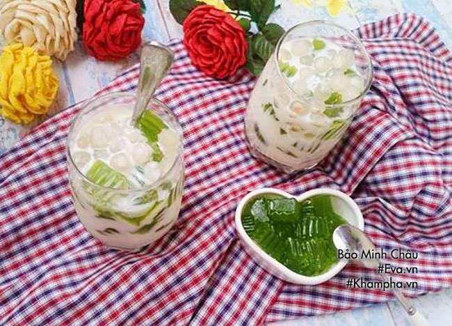 Hướng dẫn cách làm sữa chua thạch lá nếp, ăn một lần là mê - 10