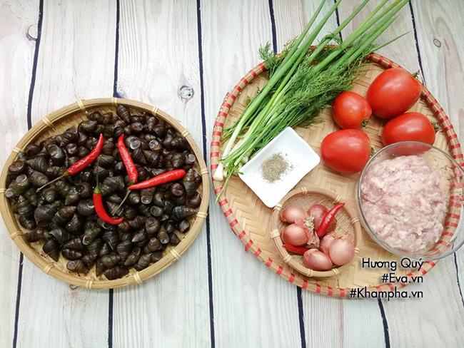 Canh ốc nấu chua thơm ngon đưa cơm ngày nắng nóng - 1