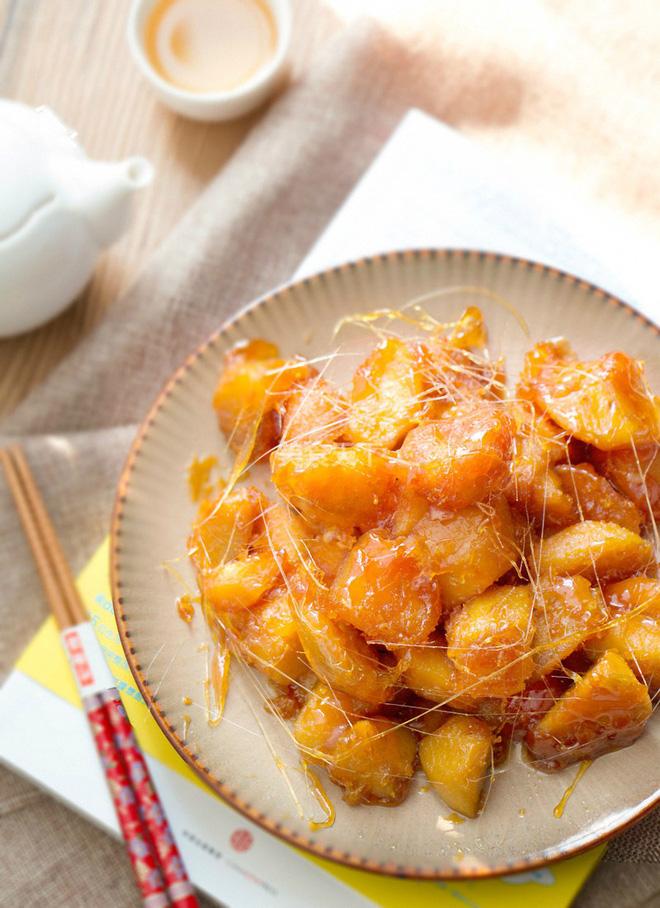 Khoai lang ngào đường - món ăn vặt ngon bổ rẻ đặc biệt dành cho mùa đông - Ảnh 4.