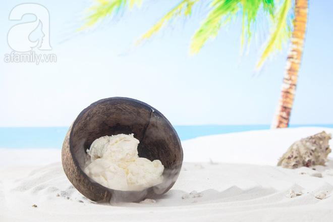 Nắng lên làm ngay kem sữa dừa mát lịm ngon mê tơi thôi các mẹ ơi - Ảnh 1.