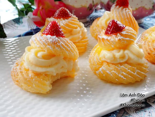 Cách làm bánh su kem đơn giản lại ngon mát đảm bảo ai ăn cũng thích - 14