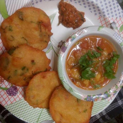 Dhuska Recipe How To Make Dhuska