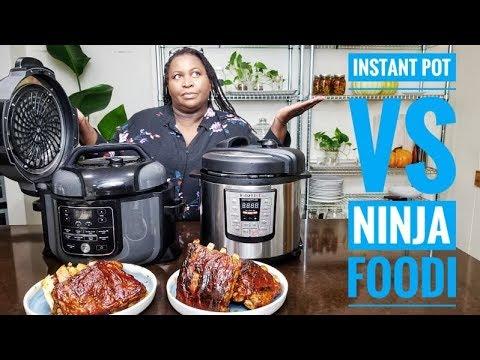 Ninja Foodi VS Instant Pot BBQ Rib Battle