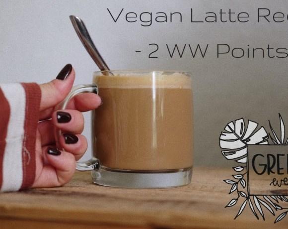 Vegan Latte Recipe! ( 2 Weightwatchers Points)