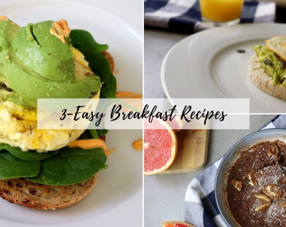 FAST & HEALTHY BREAKFAST IDEAS + RECIPES | WHAT I EAT #Breakfast | BeingDeb!