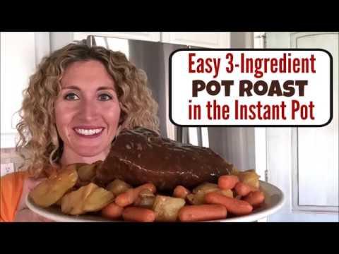 Instant Pot 3-Ingredient Rump Roast