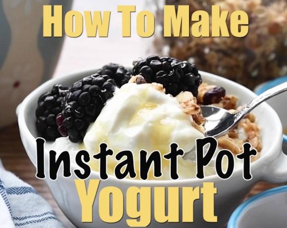 Instant Pot Yogurt