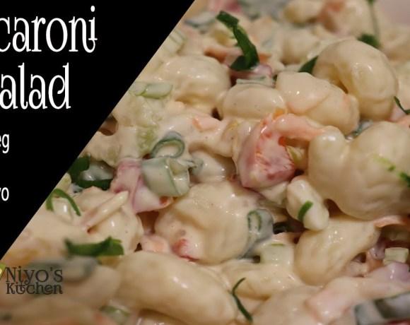 Macaroni Salad Recipe | Vegetarian Easy meals