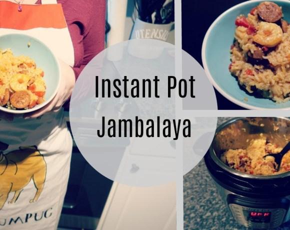 Cook With Me || Instant Pot Jambalaya || One Pot Meal
