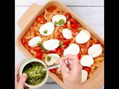 Good Housekeeping | Dinner Recipes | Caprese Pasta Bake