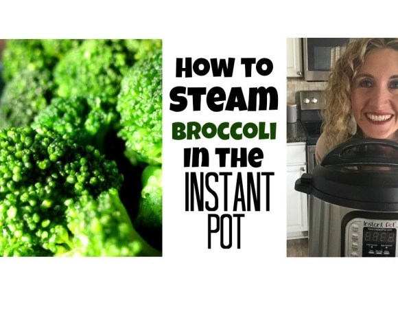 How to steam broccoli in the Instant Pot