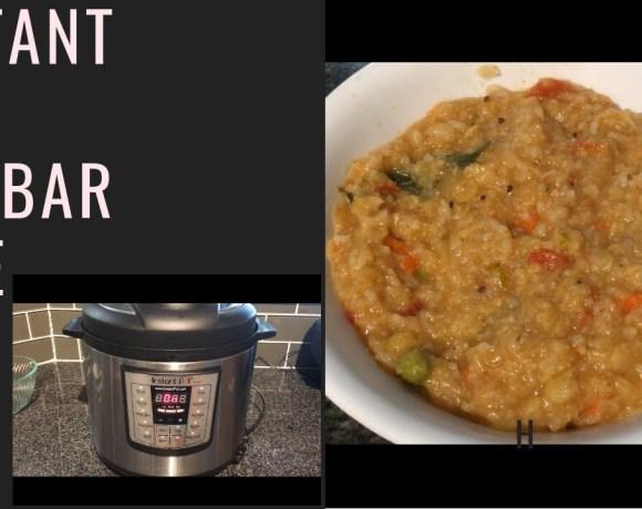 Instant Pot Sambar Rice/one pot complete Meal