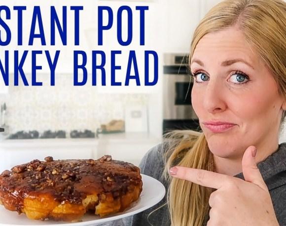 Instant Pot Sticky Monkey Pull-Apart Bread - Instant Pot Breakfast Idea