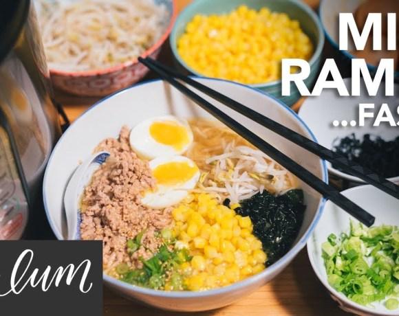 MISO RAMEN Faster - Instant Pot