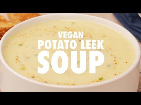 Vegan Potato Leek Soup - Loving It Vegan