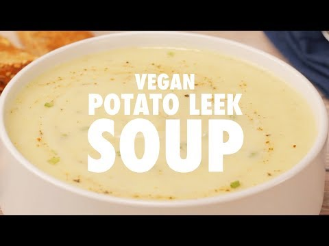 Vegan Potato Leek Soup - Loving It Vegan