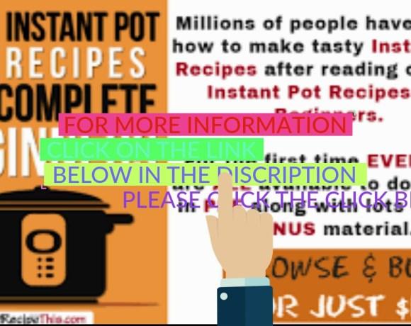 101 Instant Pot Recipes For Beginners Cookbook