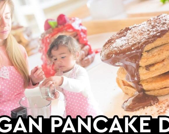 Pancake Day 3-Ways Gluten Free Vegan Pancake Recipes