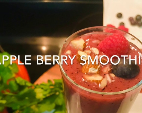 Vlog #34: Apple Berry Smoothie | Healthy Smoothie Recipe | Breakfast Smoothie