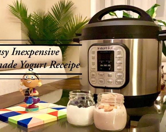 Home made ORGANIC yogurt   Instant Pot   2 Receipe - Easy & Inexpensive