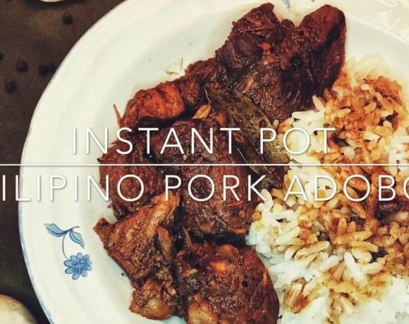 Instant Pot Filipino Pork Adobo