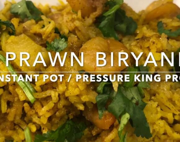 Instant Pot Prawn Biryani