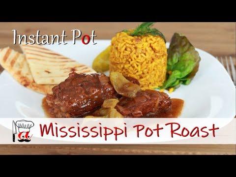 Mississippi Pot Roast | Instant Pot Recipes