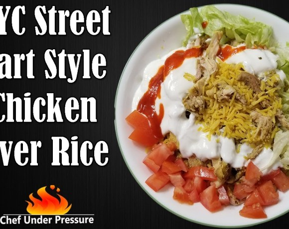 NYC Street Cart Style Chicken & Rice || Quick and Easy Instant Pot Recipes