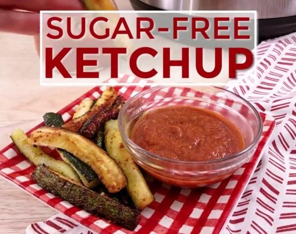 Sugar Free Ketchup - low-carb Instant Pot recipe