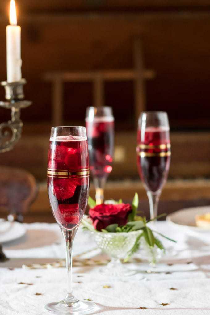 Mulled Wine Spritzer recipe