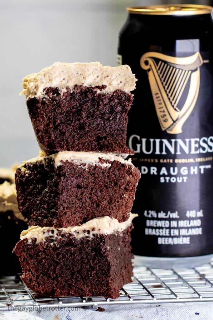 Dark Chocolate Guinness Brownies recipe