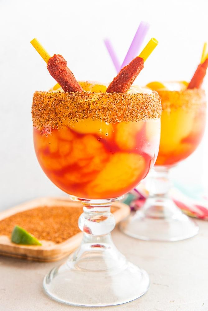Mangonadas: Spiced, Frozen Mango Margarita