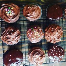Daddy's birthday cupcakes