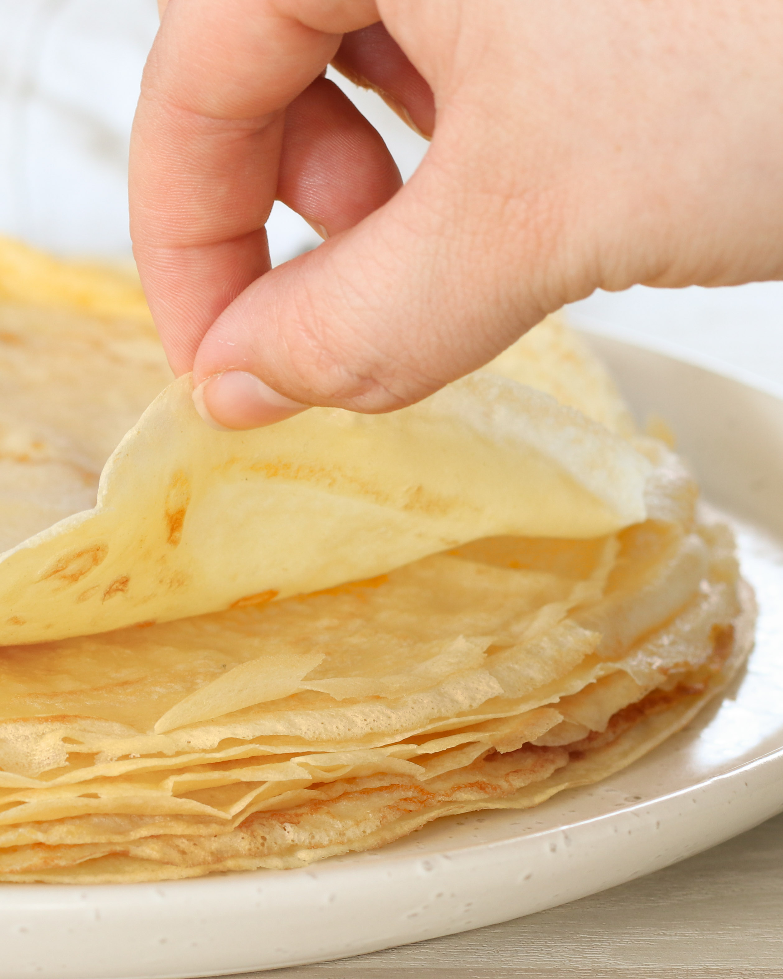 French Crepe Recipe Recipes By Carina